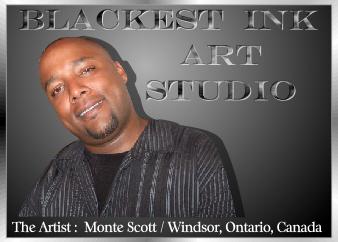 The Artist Monte Scott, Windsor, Ontario