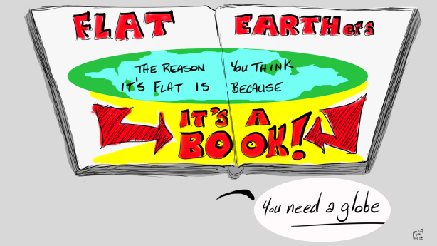 flat-earthers